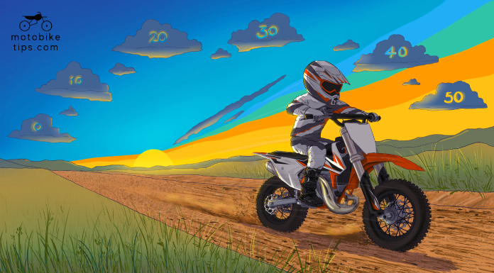 How fast is a 50cc dirt bike and is it safe at top speeds?