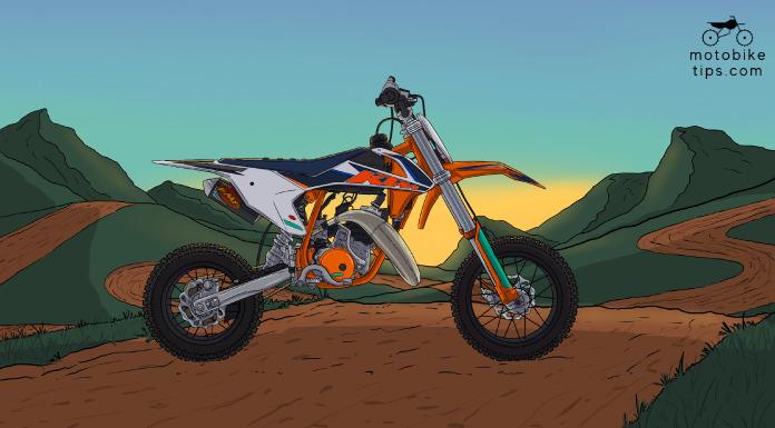 KTM 50 SX Factory Edition – New Race Ready Dirt Bike
